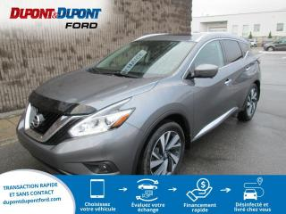 Used 2017 Nissan Murano Traction intégrale 4 portes PLATINE for sale in Gatineau, QC