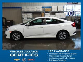 Used 2016 Honda Civic Lx Berline for sale in Amos, QC