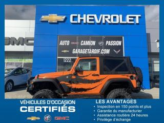Used 2013 Jeep Wrangler SPORT for sale in Amos, QC
