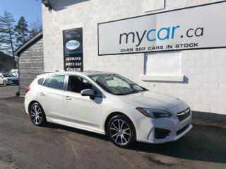 Used 2017 Subaru Impreza Touring SUNROOF, ALLOYS, HEATED SEATS, BEAUTIFUL CAR!! for sale in Richmond, ON