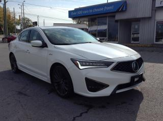 Used 2019 Acura ILX Premium A-Spec BEAUTY A-SPEC RED LEATHER, SUNROOF, HEATED SEATS!! for sale in Kingston, ON