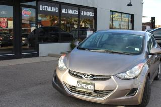 Used 2013 Hyundai Elantra GL,GL for sale in Oakville, ON