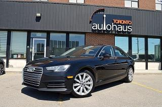 Used 2017 Audi A4 KOMFORT/REAR CAM/LEATHER/SUNROOF for sale in Concord, ON