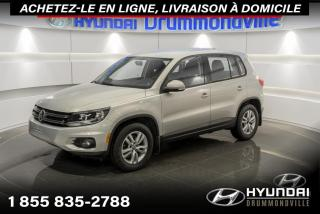 Used 2012 Volkswagen Tiguan TRENDLINE + GARANTIE + A/C + MAGS + WOW for sale in Drummondville, QC