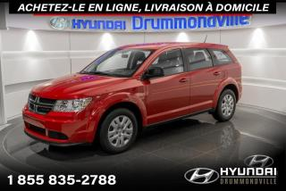 Used 2016 Dodge Journey CVP + GARANTIE + A/C + CRUISE + WOW !! for sale in Drummondville, QC