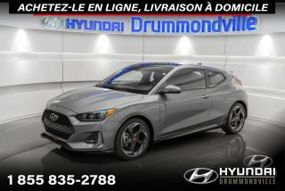 Used 2020 Hyundai Veloster TURBO + GARANTIE + TOI PANO + CUIR + WOW for sale in Drummondville, QC