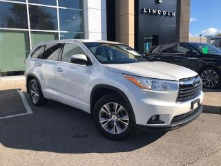 Used 2015 Toyota Highlander LE 8 PASSENGER AWD! CERTIFIED for sale in Hamilton, ON