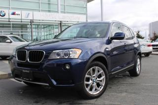 Used 2013 BMW X3 xDrive28i for sale in Langley, BC