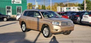 Used 2009 Toyota Highlander HYBRID 4WD 4DR for sale in Burlington, ON