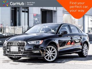 Used 2016 Audi A3 2.0T Progressiv Quattro Sunroof Backup Camera Heated Front Seats for sale in Thornhill, ON