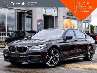 Used 2017 BMW 7 Series 750i xDrive M-Sport & Aero pkg Harman Kardon 360 & Backup Camera for sale in Thornhill, ON