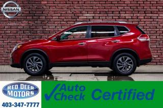 Used 2016 Nissan Rogue AWD SL Leather Roof Nav BCam for sale in Red Deer, AB