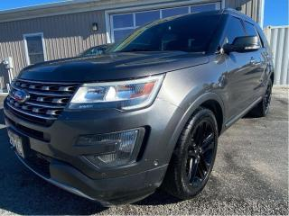Used 2016 Ford Explorer LIMITED for sale in Tilbury, ON