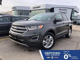 Used 2016 Ford Edge SEL AWD | Heated Seats | Touchscreen Navigation for sale in Winnipeg, MB