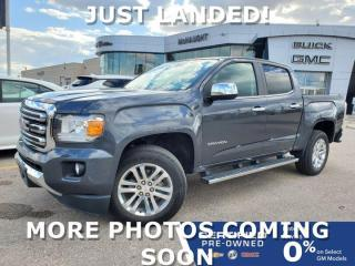 Used 2017 GMC Canyon SLT 4x4 Crew Cab | Bose Audio | Navigation for sale in Winnipeg, MB