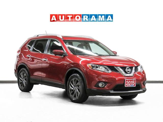 2015 Nissan Rogue SL AWD Nav Leather PanoRoof Backup Cam