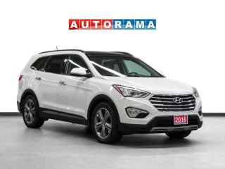 Used 2016 Hyundai Santa Fe XL Limited Adventure Edition AWD Nav Lthr Pano Bcam for sale in Toronto, ON