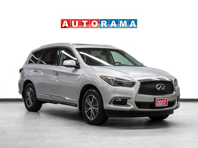 2017 Infiniti QX60 AWD Navigation Leather Sunroof 360 Camera