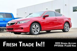 Used 2012 Honda Accord Cpe EX-L w/Navi 2dr FWD Coupe for sale in Red Deer, AB