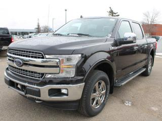 New 2020 Ford F-150 Lariat 502A | 4x4 Supercrew | 5.0L V8 | Auto Start/Stop | Heated Seats/Heated Steering Wheel | Pre-Collision Assist | Rear View Camera | Trailer Tow Package | Navigation | Moonroof | for sale in Edmonton, AB