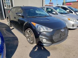 Used 2014 Hyundai Veloster Turbo*NAV*HEATED SEATS*BLUETOOTH* for sale in Hamilton, ON