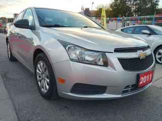 Used 2011 Chevrolet Cruze LS+ w/1SB-ONLY 95K-4 CYL-BLUETOOTH-AUX-USB for sale in Scarborough, ON
