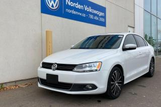 Used 2014 Volkswagen Jetta Sedan 2.0L TDI HIGHLINE - LEATHER / SUNROOF for sale in Edmonton, AB