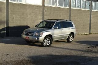 Used 2003 Toyota Highlander for sale in Winnipeg, MB
