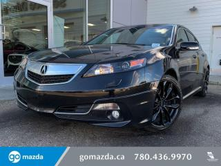 Used 2014 Acura TL A-SPEC - FULL LOAD, LEATHER, HEATED SEATS, PUSH BUTTON AND MUCH MORE! SPORTY AND LUXURIOUS! for sale in Edmonton, AB