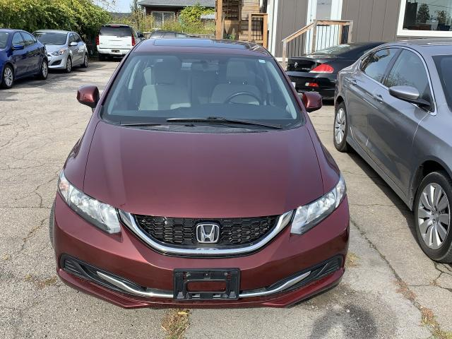 2013 Honda Civic EX*Sunroof*Rearview Cam*
