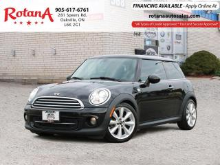 Used 2013 MINI Cooper w/NAVIGATION/SUNROOF/ACCIDENT FREE for sale in Oakville, ON