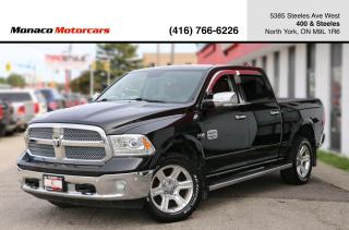 Used 2015 RAM 1500 LARAMIE LONGHORN CREWCAB 4X4 - NAVI|BACKUP|LOW KMS for sale in North York, ON