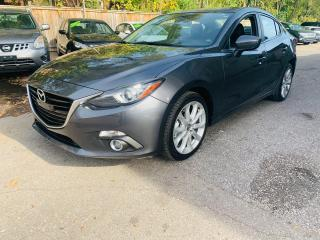 Used 2014 Mazda MAZDA3 GT-SKY for sale in Mississauga, ON