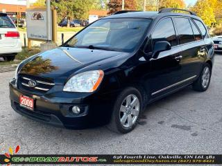 Used 2009 Kia Rondo EX NO ACCIDENT BLUETOOTH HEATED SEATS CERTIFIED for sale in Oakville, ON