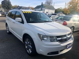 Used 2010 Dodge Journey R/T, All Wheel Drive for sale in St Catharines, ON