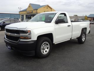 Used 2017 Chevrolet Silverado 1500 WT RegCab 4.3L 8ft Box for sale in Brantford, ON
