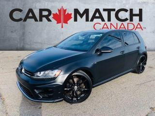 Used 2016 Volkswagen Golf R / NO ACCIDENTS / AWD for sale in Cambridge, ON