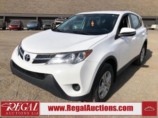 Used 2015 Toyota RAV4 LE 4D Utility AWD 2.5L for sale in Calgary, AB