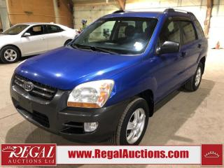 Used 2006 Kia Sportage LX 4D Utility FWD for sale in Calgary, AB