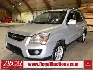 Used 2010 Kia Sportage 4D Utility 4WD for sale in Calgary, AB