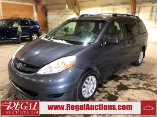 Used 2009 Toyota Sienna CE 4D WAGON for sale in Calgary, AB