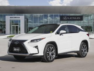 Used 2016 Lexus RX 350 AWD 4dr Executive Package for sale in Winnipeg, MB
