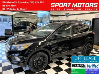 Used 2018 Ford Escape SE 4WD+Camera+New Tires & Brakes+ACCIDENT FREE for sale in London, ON