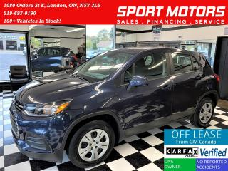 Used 2019 Chevrolet Trax LS+Apple CarPlay+Camera+Bluetooth+ACCIDENT FREE for sale in London, ON