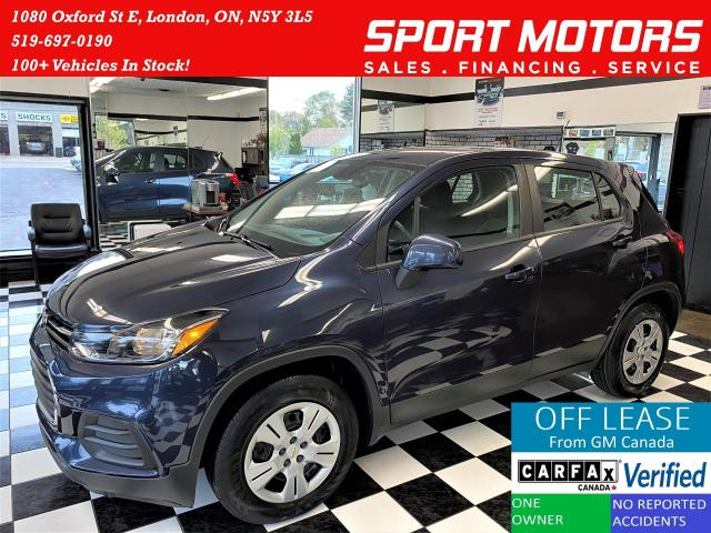 2019 Chevrolet Trax LS+Apple CarPlay+Camera+Bluetooth+ACCIDENT FREE