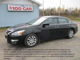 Used 2015 Nissan Altima 2.5 S for sale in North Bay, ON