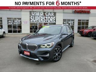 Used 2020 BMW X1 XDRIVE28i, PREMIUM PKG, AWD, NAV, LEATHER, SUNROOF for sale in Niagara Falls, ON