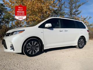Used 2018 Toyota Sienna XLE LIMITED AWD *NAVIGATION - DVD - LOCAL VEHICLE* for sale in Winnipeg, MB