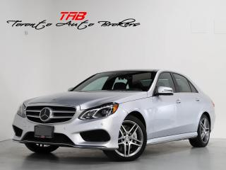 Used 2016 Mercedes-Benz E-Class E550 AMG I PANO I NAVI I CLEAN CARFAX for sale in Vaughan, ON