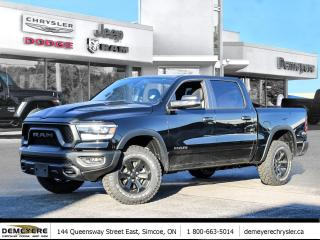 New 2021 RAM 1500 REBEL | NIGHT EDITION | 0% FINANCING PLUS $1500 BO for sale in Simcoe, ON